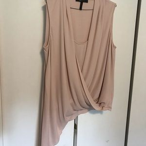 BCBG Beautiful Blush color Blouse in a medium